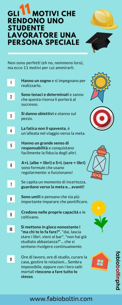 Gli 11 motivi che rendono uno studente lavoratore una persona speciale