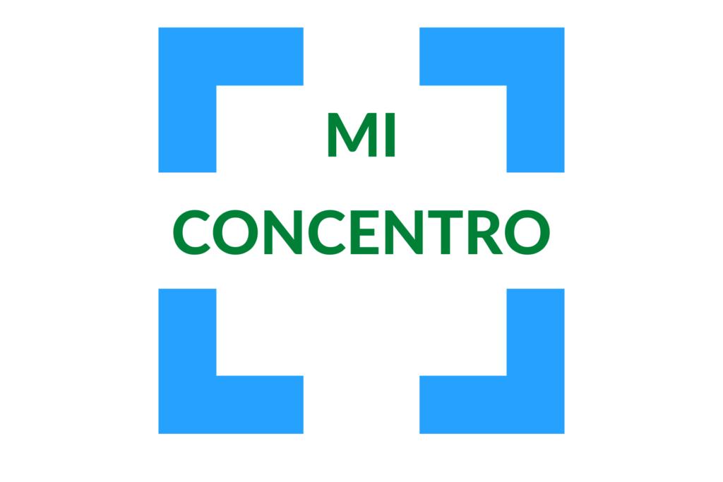 """Logo laboratorio """"Mi concentro"""""""