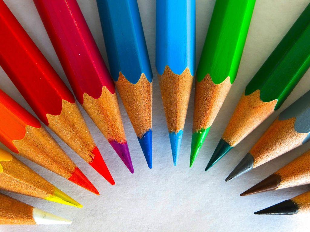 """Titolo """"Studiare a colori"""""""